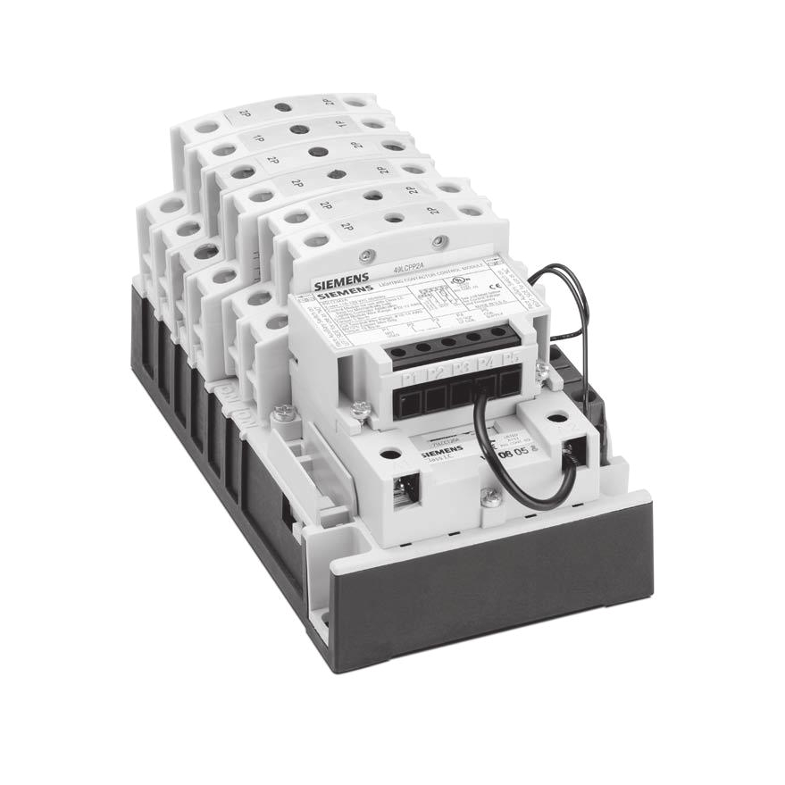lighting and heating control electrically held lighting contactors class lc features class lc lighting contactors