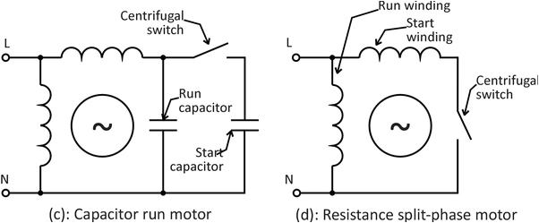Single Phase Motor Wiring Diagram with Capacitor Start Capacitor Run What is the Wiring Of A Single Phase Motor Quora