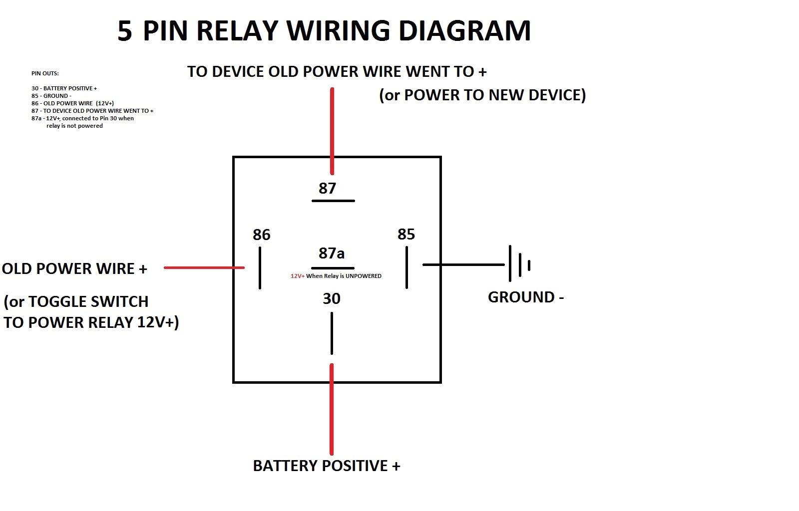 Single Pole Relay Wiring Diagram 12vdc Relay Wiring Blog Wiring Diagram