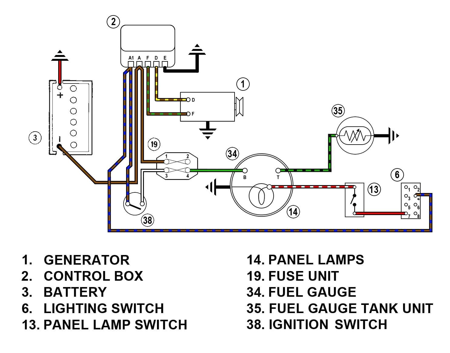 Smiths Fuel Gauge Wiring Diagram Sport Comp Fuel Gauge Wiring Diagram Wiring Library