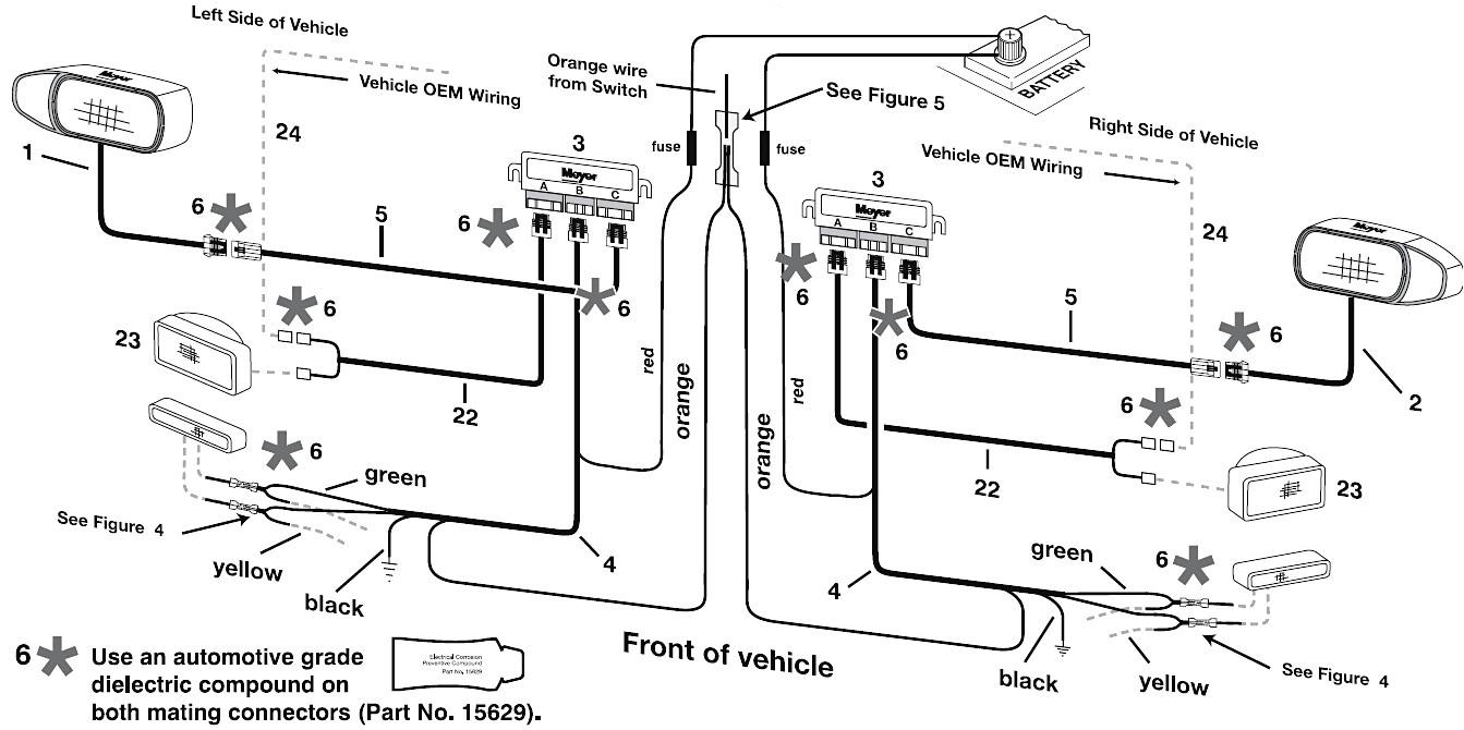 king snow plow wiring diagram wiring diagrams data meyer snow plow wiring harness diagram view diagram