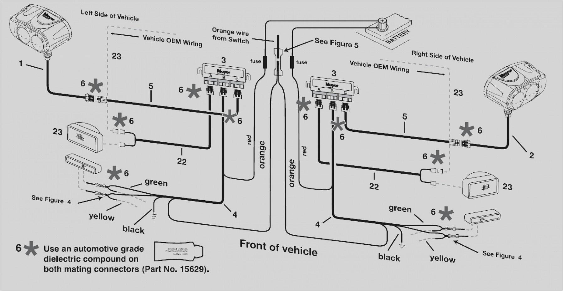wiring diagram western snow plow