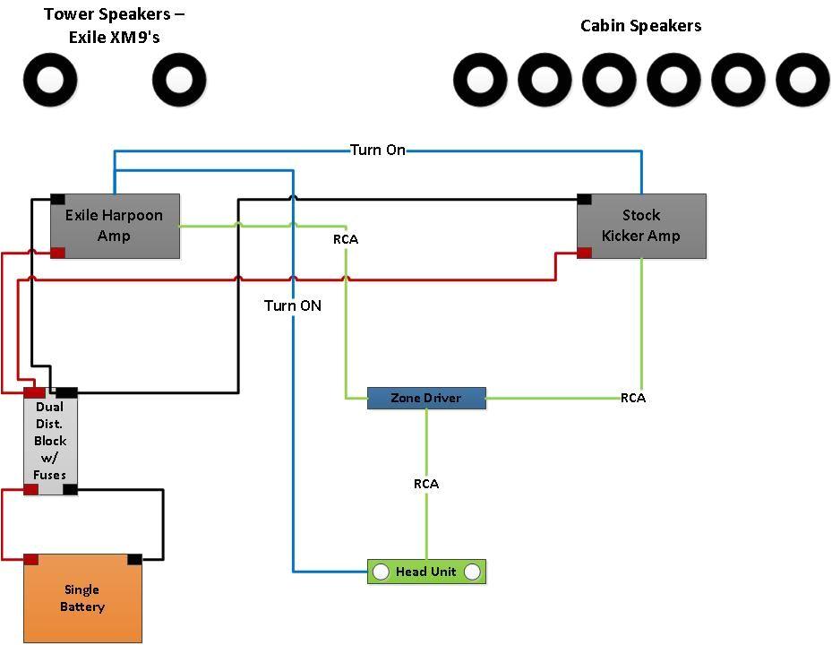 tower speaker wiring design validation stereo info u0026 how to sony cdx m60ui wiring