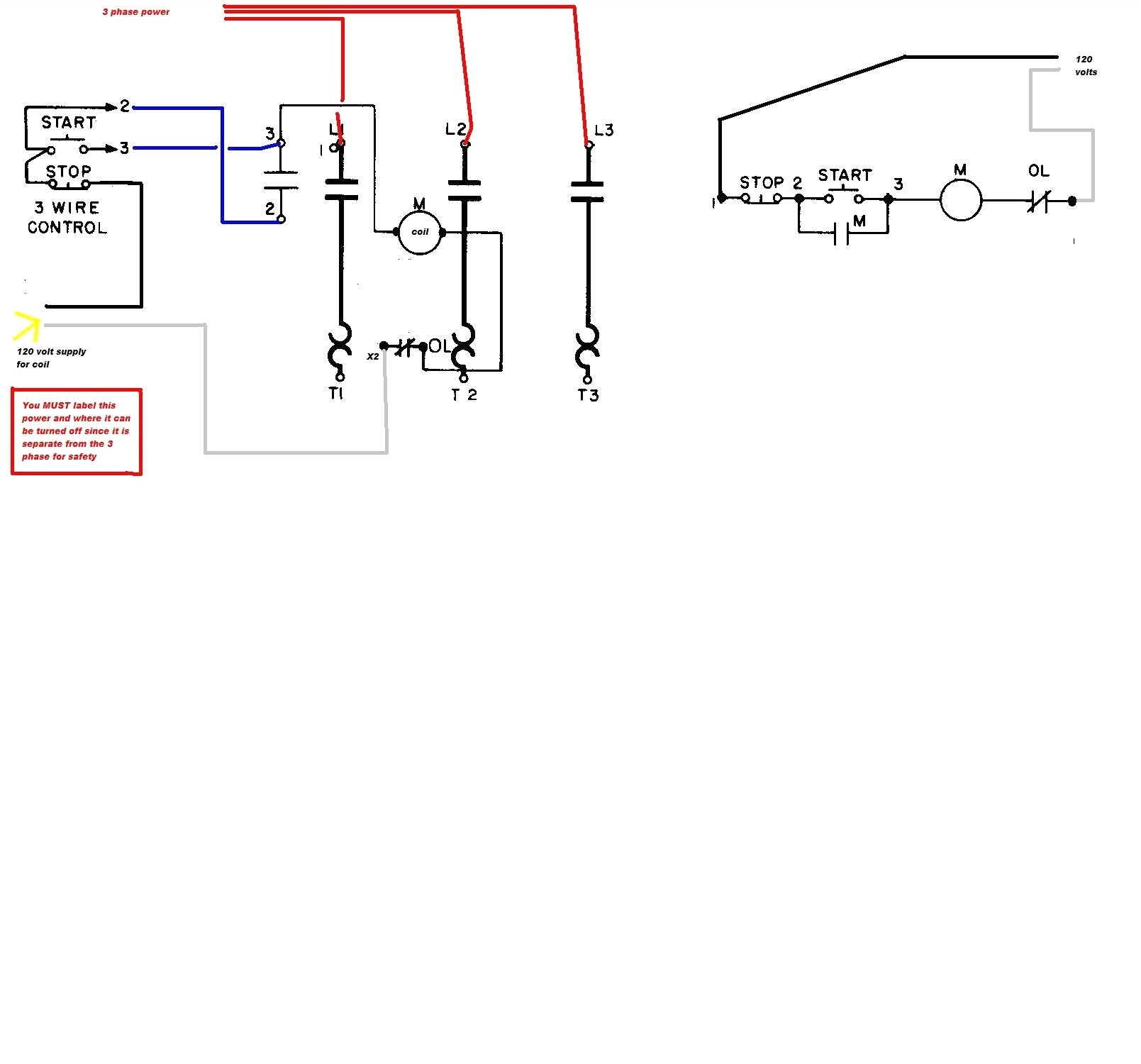 back to post square d 8536 starter wiring diagram