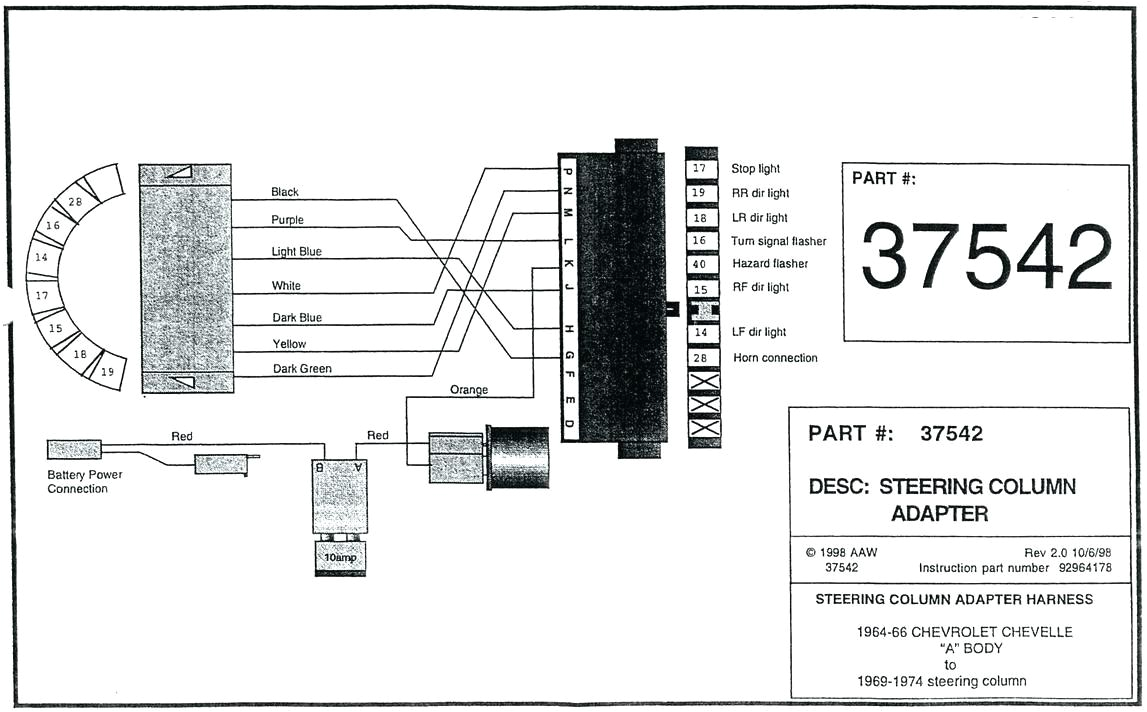 turn signal wiring diagram truck strictly vintage 1957 chevrolet steering column full size of ford inside the street rod life this on gm 1966 chevy c10 ignition jpg