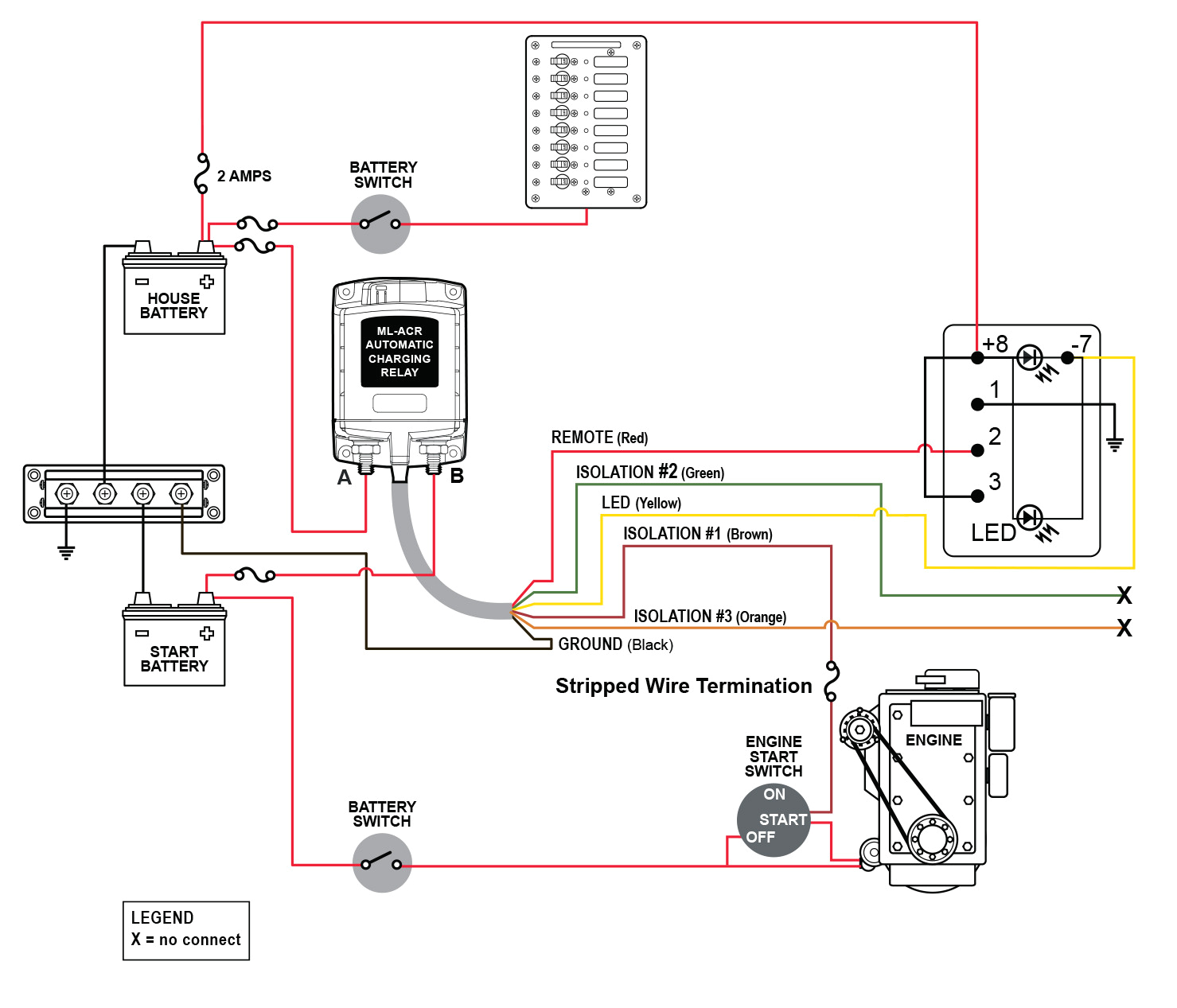 4 wire intercom wiring diagram