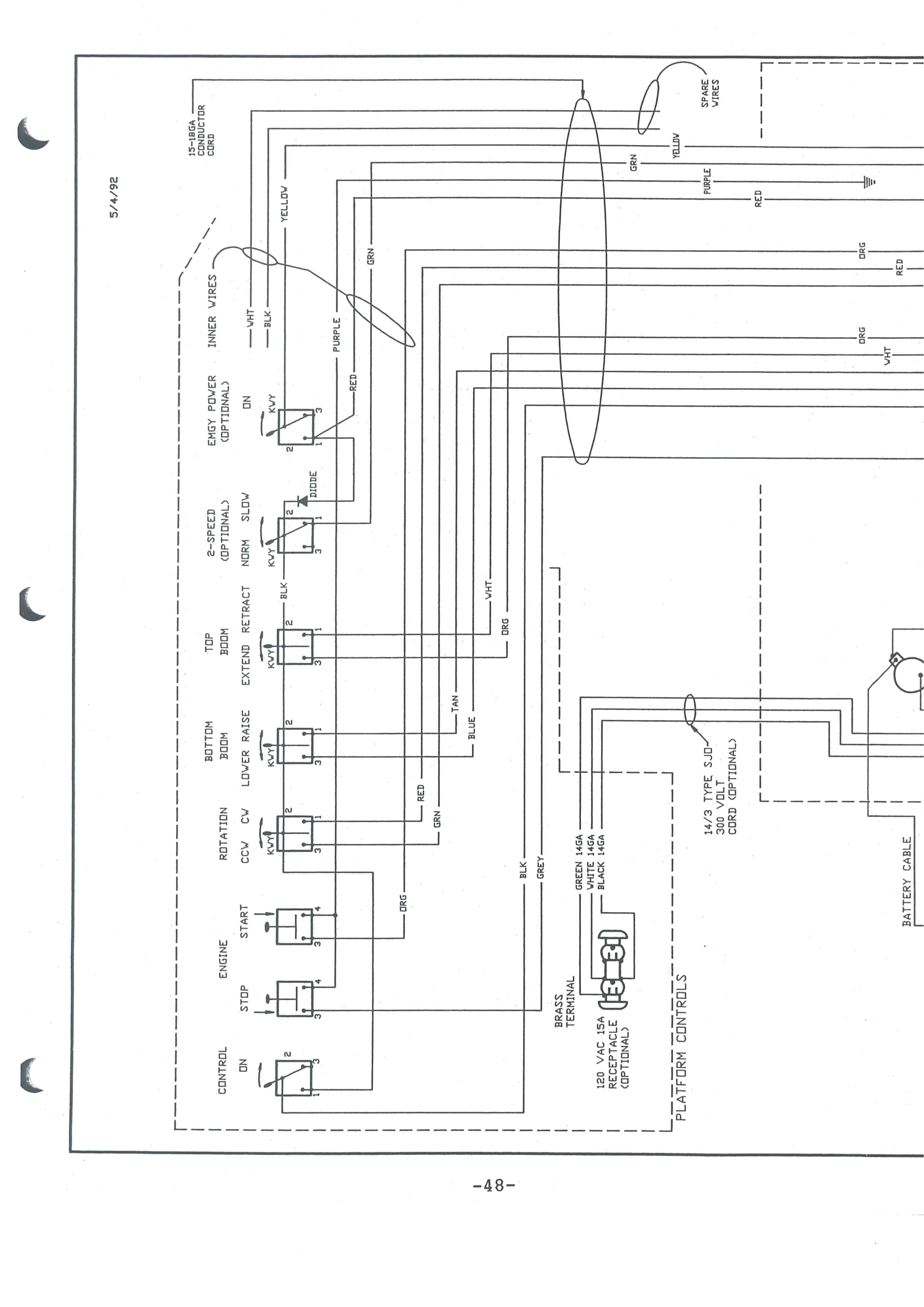 Telsta Bucket Truck Wiring Diagram Altec Hydraulic Lift Diagram for Wiring Wiring Diagram