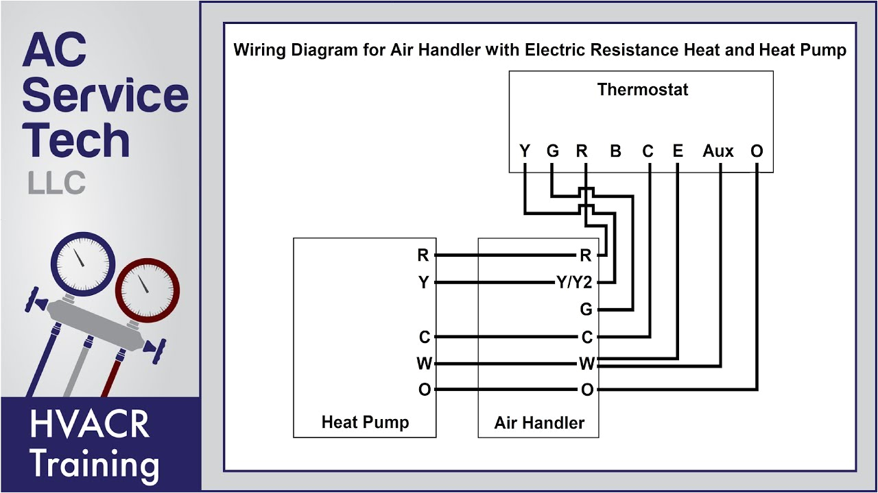 thermostat wiring diagrams 10 most common ac service tech llc