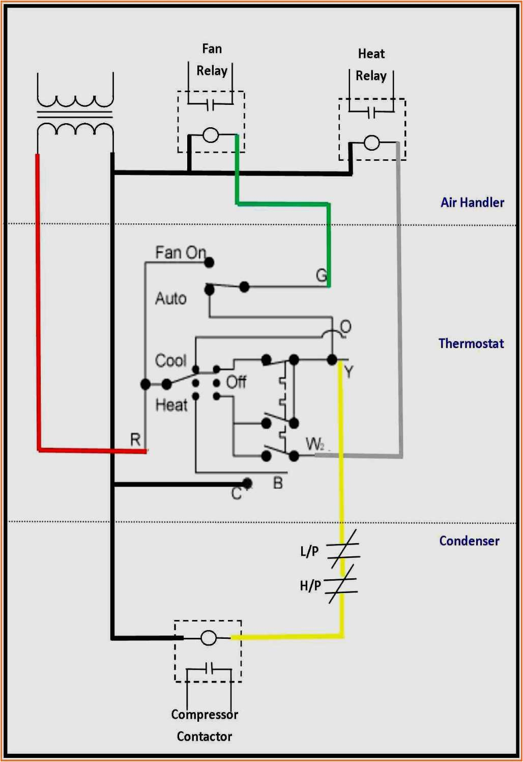 Thermostat Wiring Diagram Air Conditioner Wiring Diagram Sea Ray Boat Ac thermostat Wiring Diagram Data