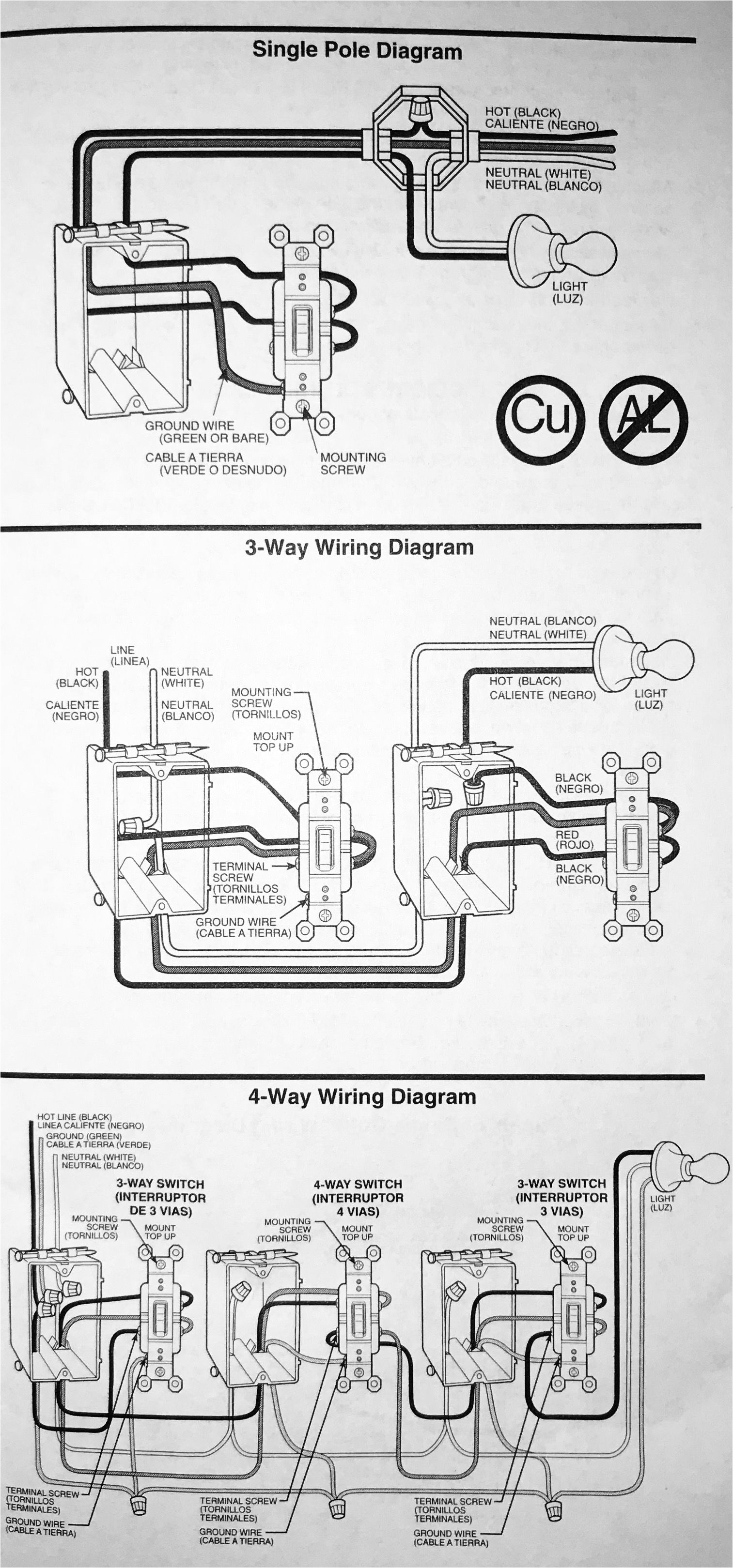 Three Way Electrical Wiring Diagram Wire Diagram for 3 Way Switch Wiring Diagram