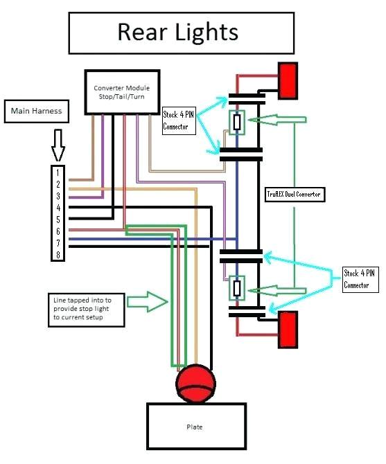 toyota trailer wire harness trailer light wiring 7 light diagram wiring diagram data 2000 toyota tundra