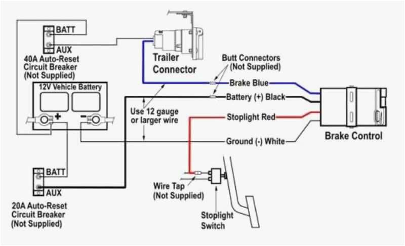 electric brake controller wiring diagram best of trailer breakaway kit wiring diagram new wiring diagram od