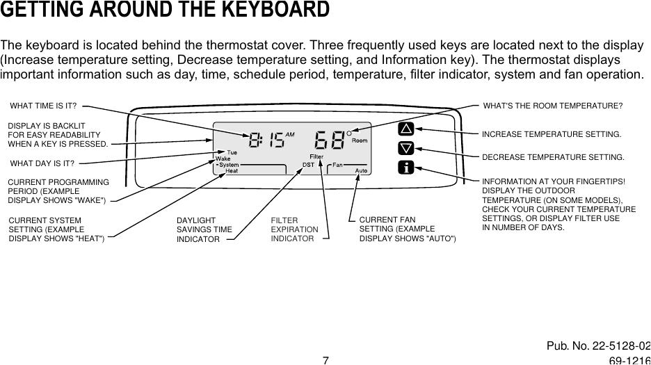 Trane Xt302c Wiring Diagram Trane Xt500c Users Manual Xt300c Xt302c Deluxe Programmable Heat