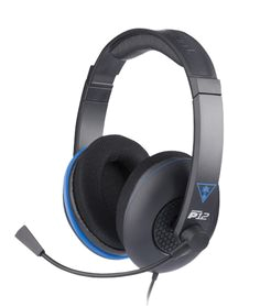 turtle beach ear force p12 amplified stereo gaming headset for ps4 refurbished official turtle beach