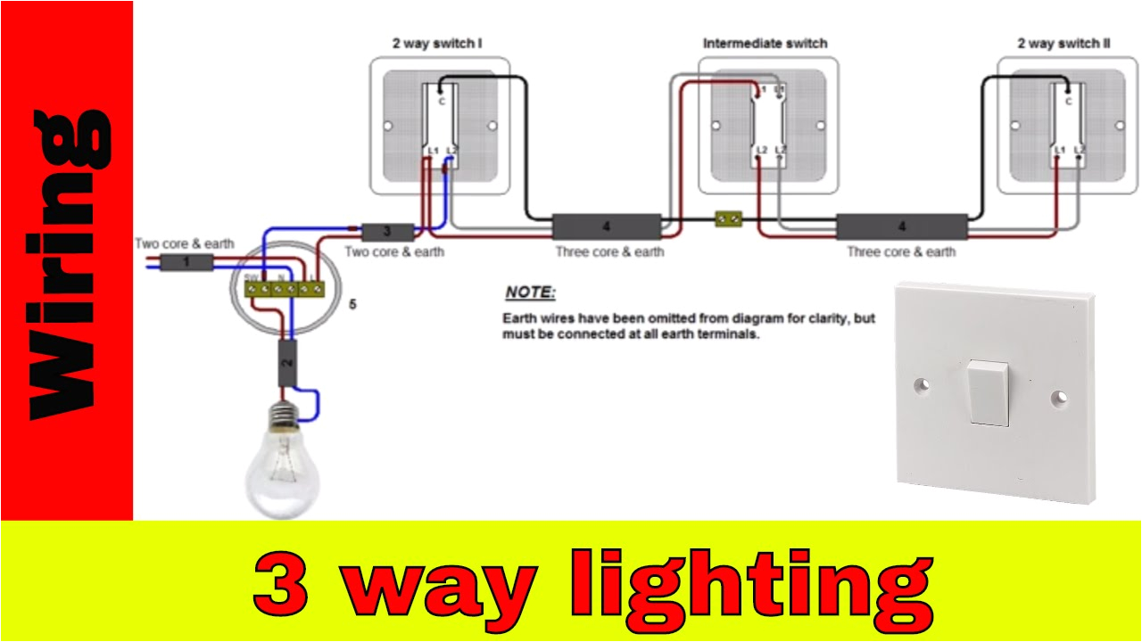how to wire 3 way lighting circuit youtube wiring 3 lights pendant