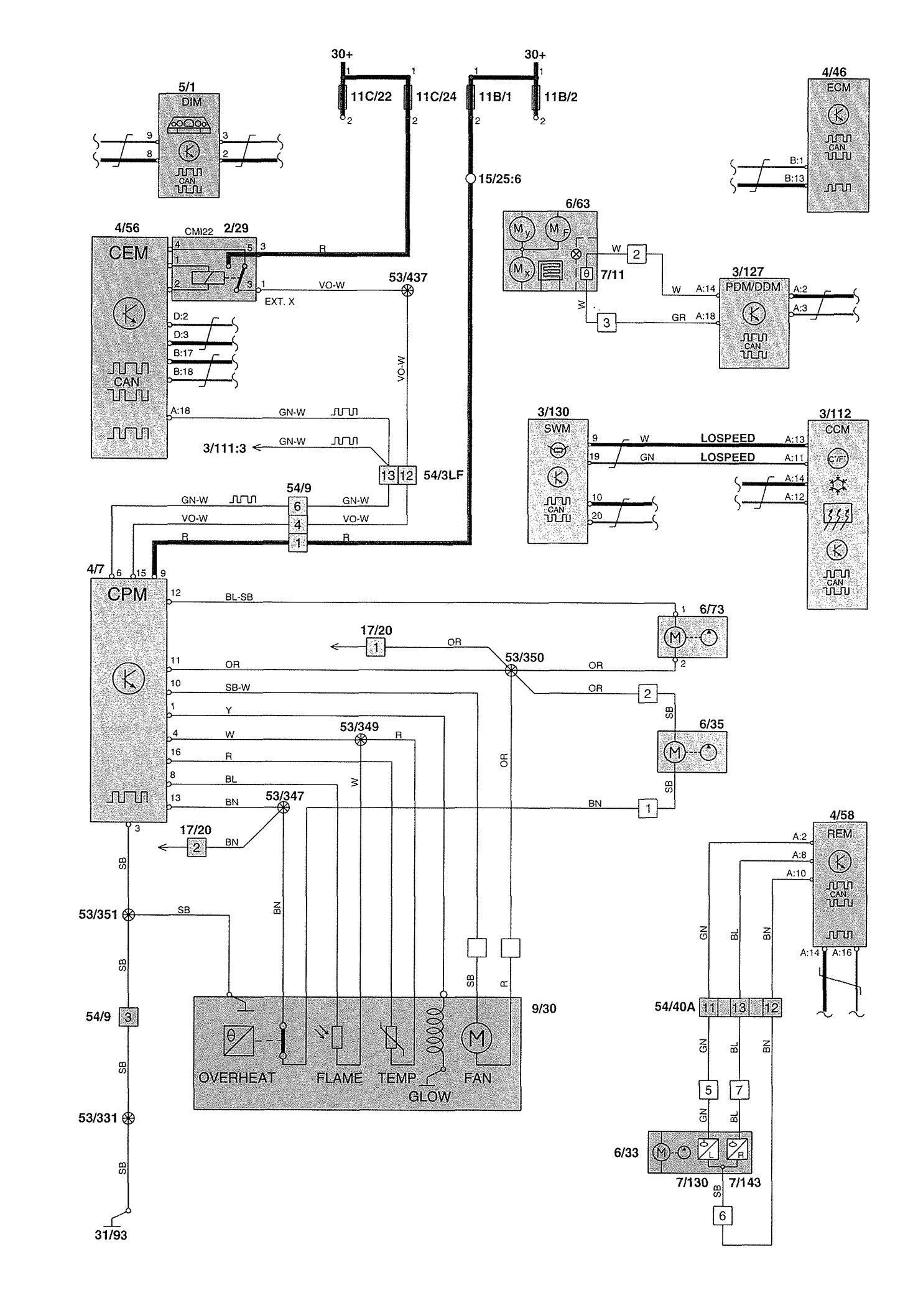 volvo v70 wiring diagram heater 2 2002 jpg
