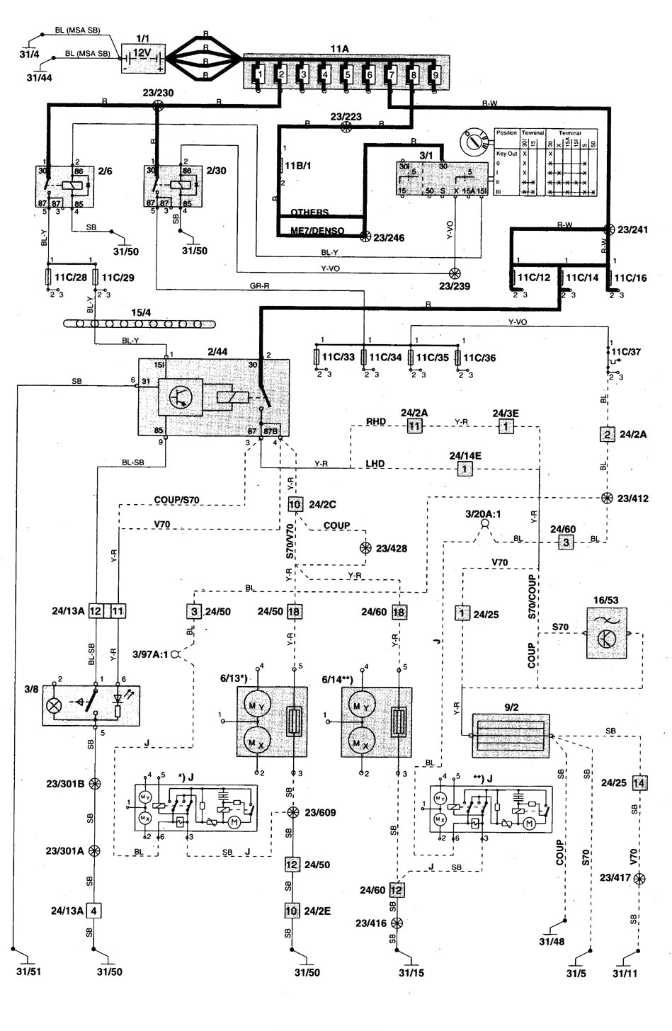 2001 volvo v70 engine diagram 2001 volvo v70 vacuum diagram enthusiast wiring diagrams e280a2 jpg