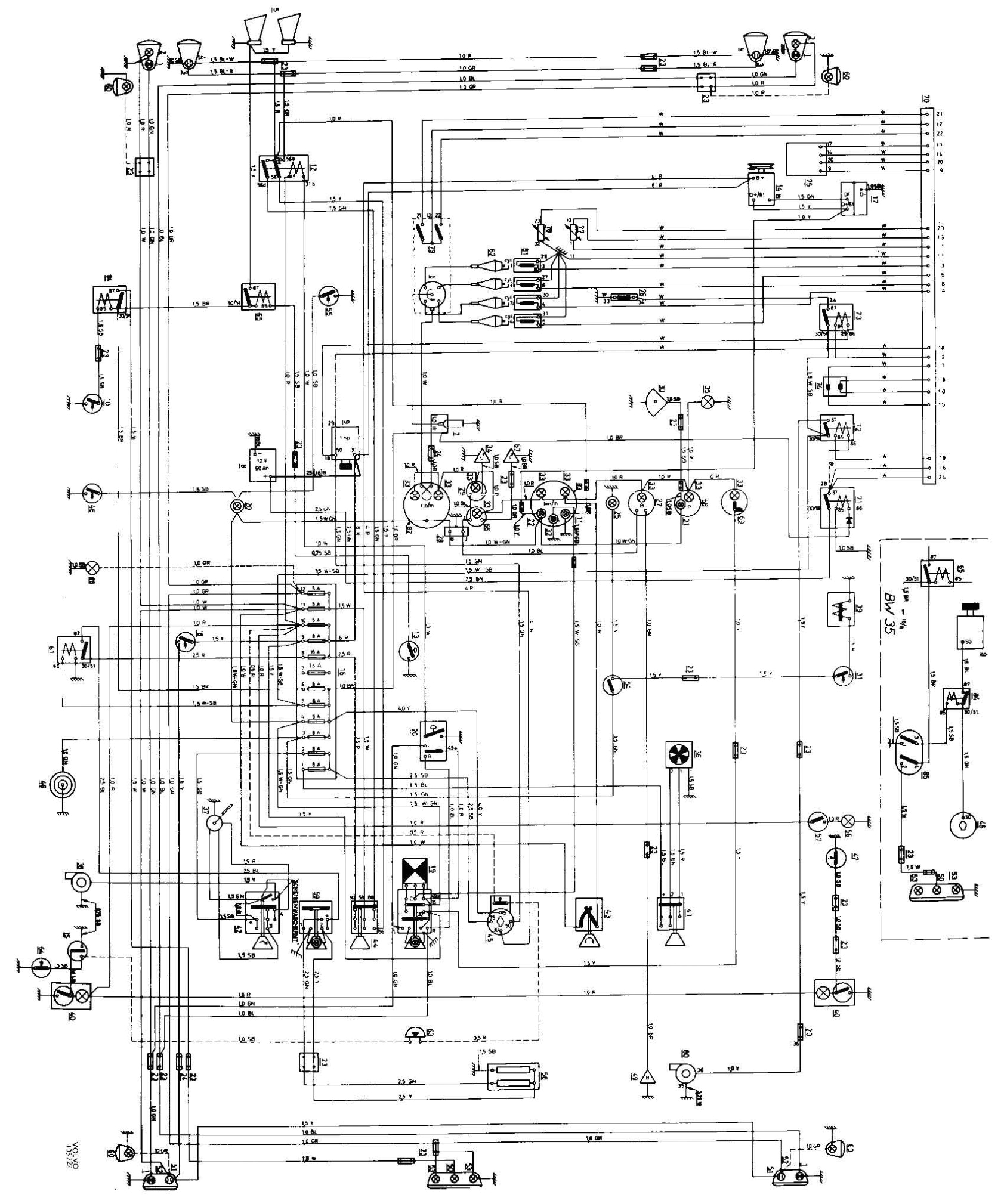 volvo semi truck fuse diagram fresh 1986 volvo 740 wiring diagram volvo truck fuse box diagram jpg