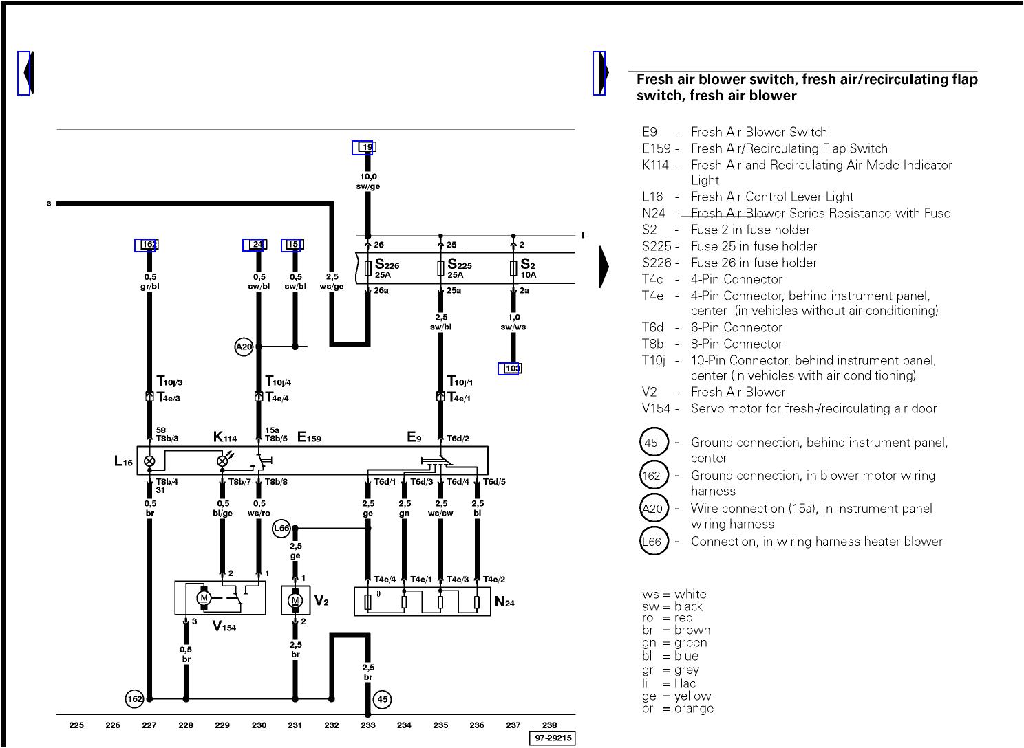 2001 vw beetle wiring diagram alternator car manuals diagrams fault codes automotive net volkswagen 19l with passat