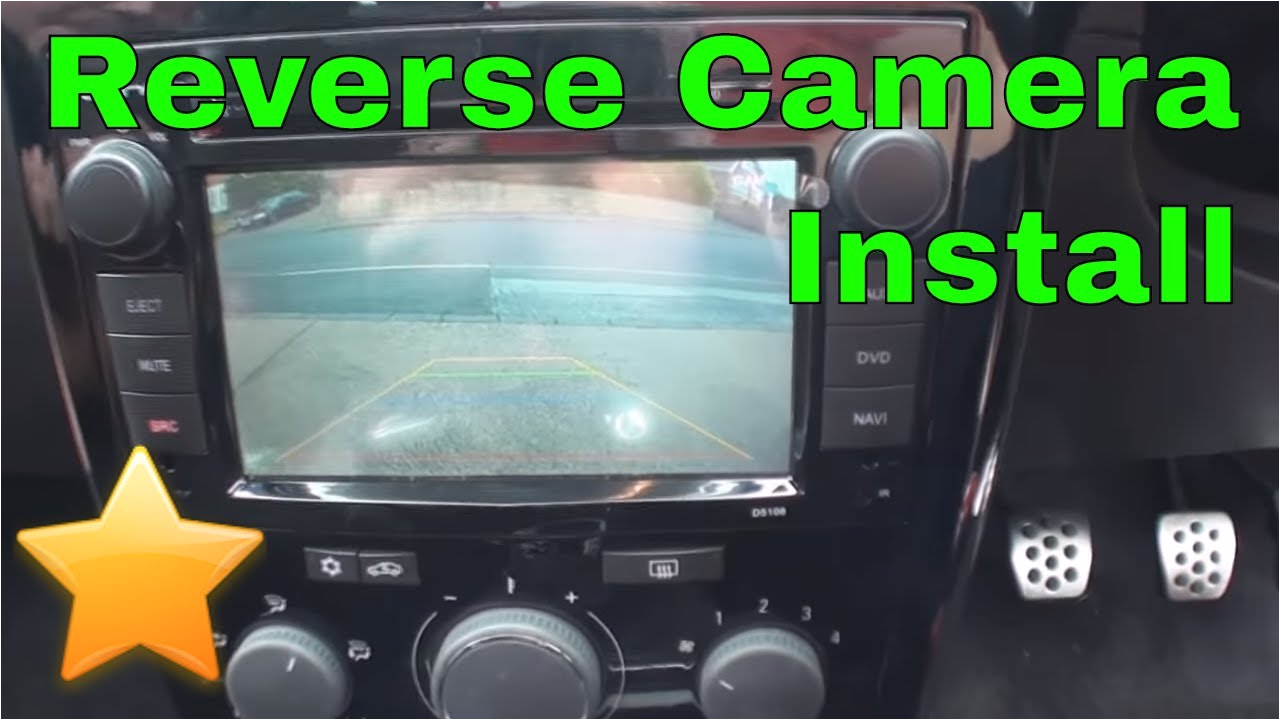 how to install a reversing camera canbus