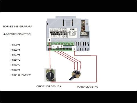 Weg Cfw500 Wiring Diagram Inversor Weg Cfw 500 Gira Para E Via Potencia Metro Youtube