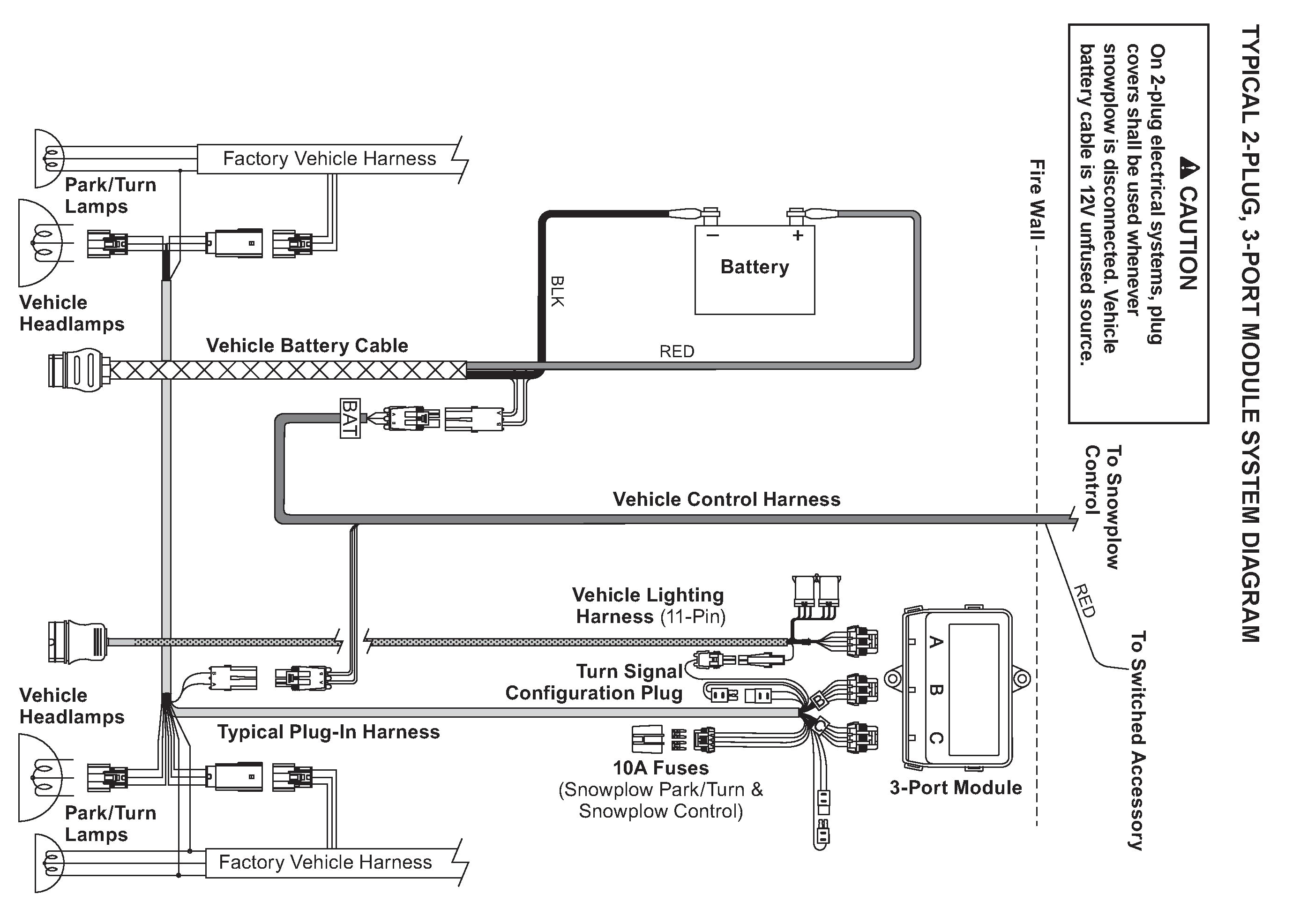 3 port isolation module wiring electrical western serviceyellow snow plow wiring diagram box 12