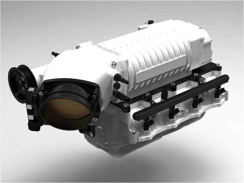 whipple front feed mustang supercharger