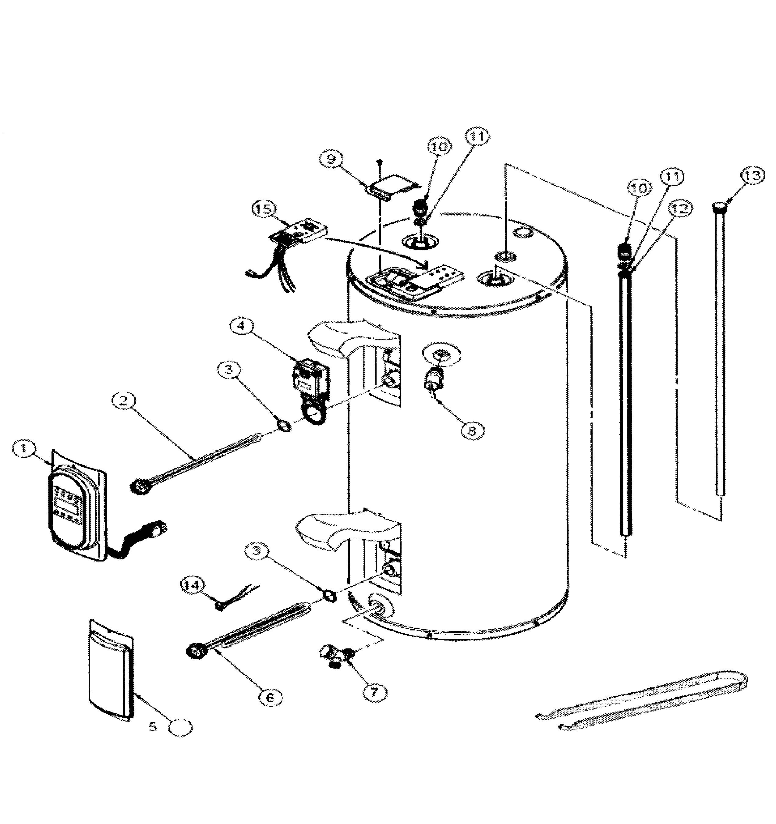 looking for whirlpool model es40r92 45d electric water heater repair whirlpool electric water heater wiring diagram