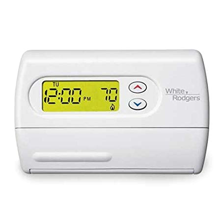 emerson 1f86 344 non programmable thermostat for single stage systems programmable household thermostats amazon com