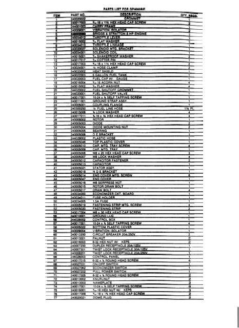 gp4000be parts list amp wiring diagram winco generators jpg