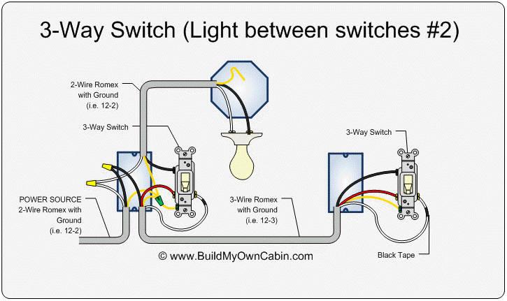 Wiring A Three Way Switch Diagram 2 Lights One Switch Diagram Way Switch Diagram Light Between
