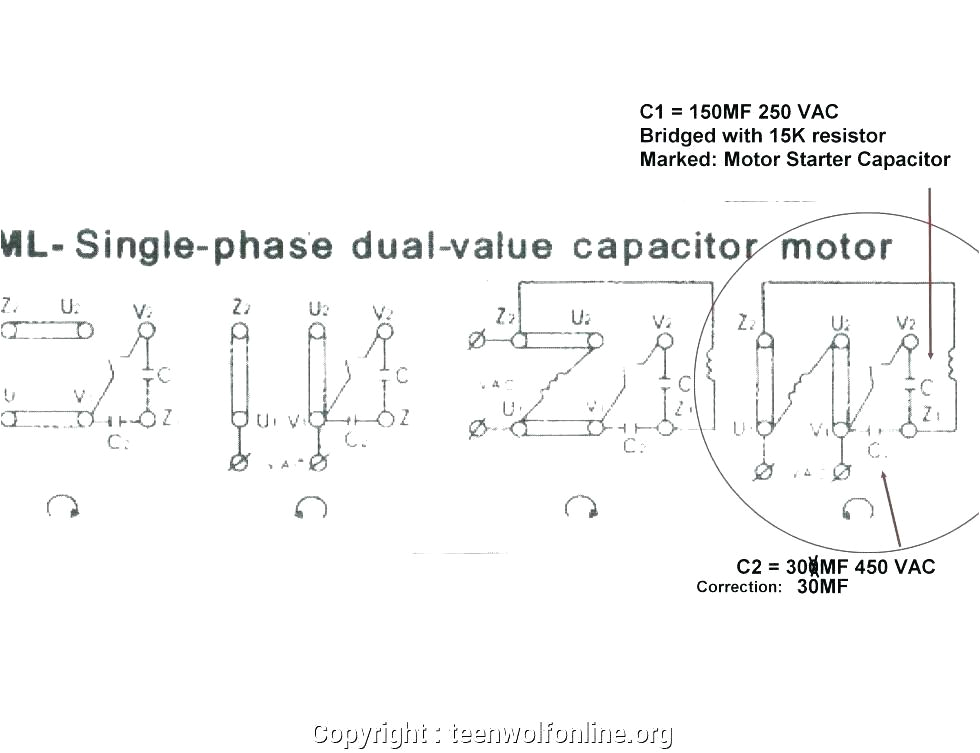 wiring diagram for single phase starter power motor diagrams full size of electric g induction forward