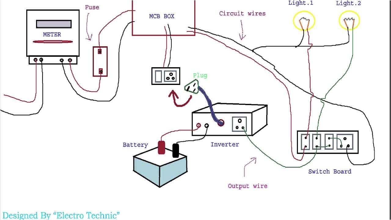 d inverter ki wiring kaise karte haind youtube inverter wiring diagram hindi inverter wiring diagram