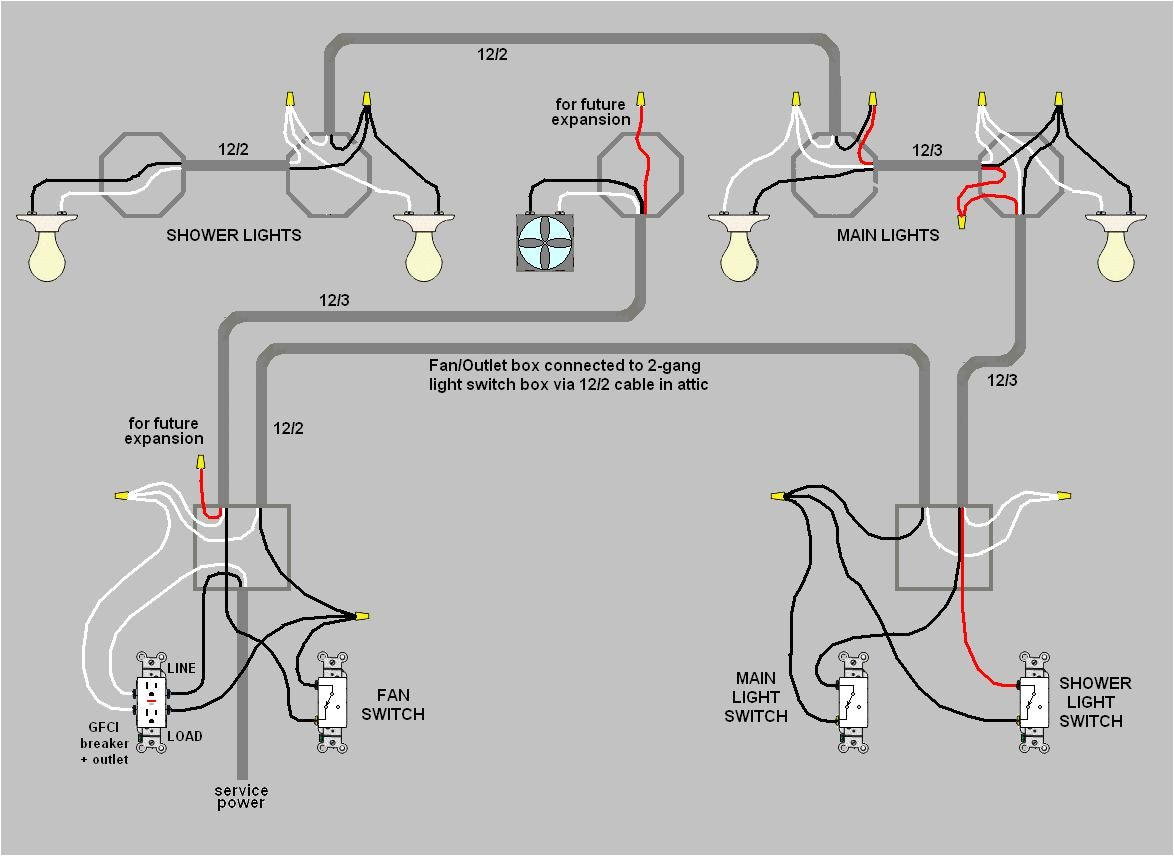 electrical how do i wire multiple switches for my bathroom lights how do you wire multiple outlets between three way switches