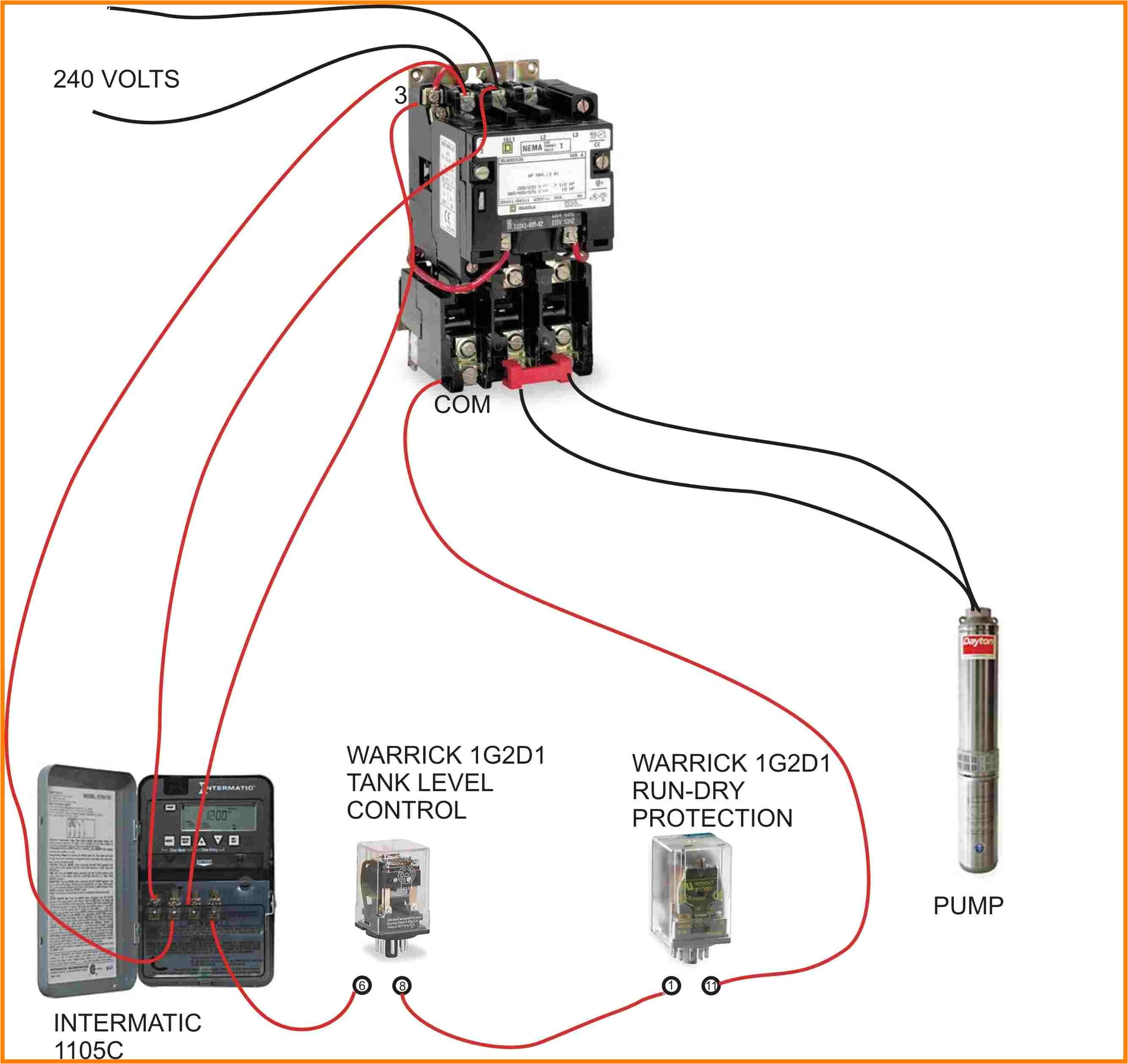 electrical wiring in the home water pump to definite purpose relaypump contactor wiring diagram data schematic