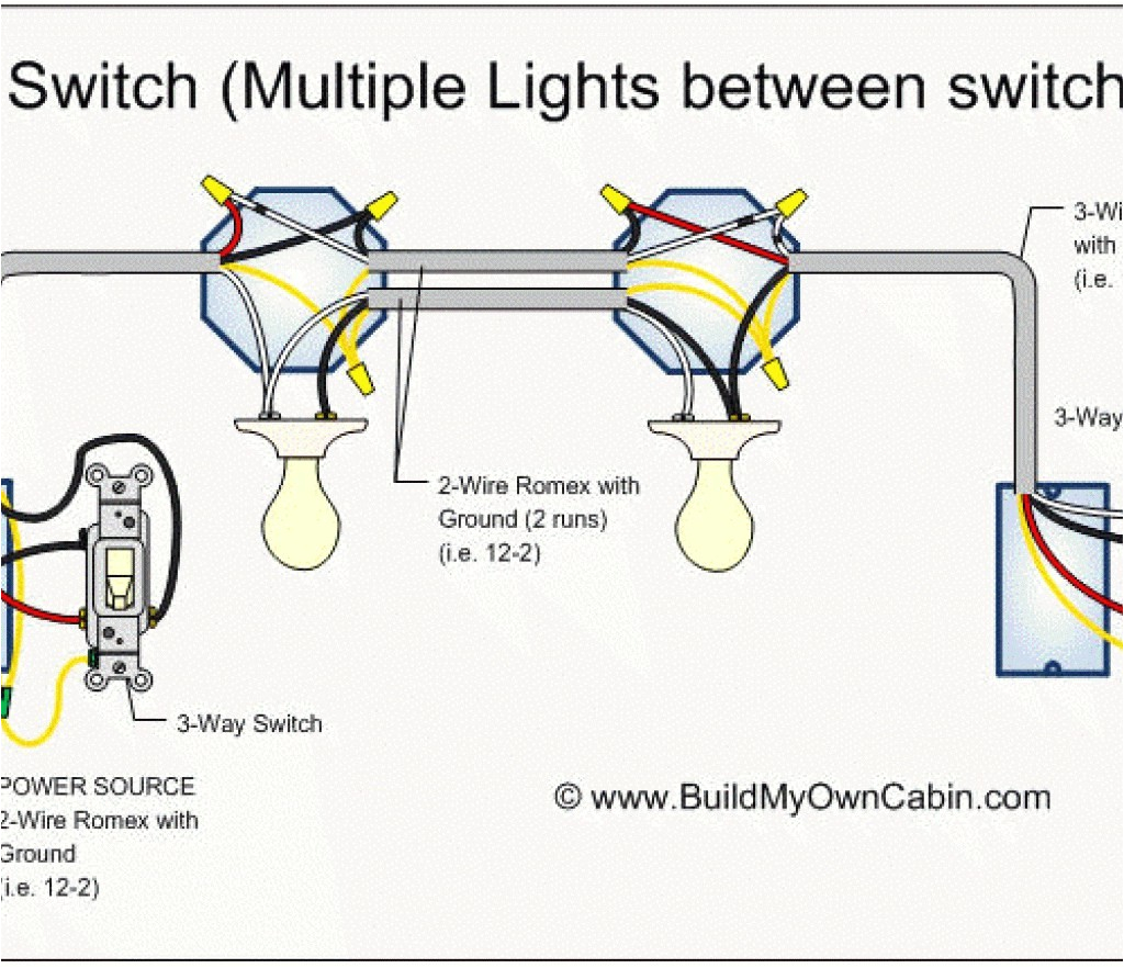 help with wiring 1 switch controlling 2 lights 3 lites daisy chained daisy chain on one switch wiring diagram lights