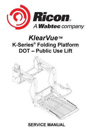 ricon k series dot public use wheelchair lift service manual 0 jpg