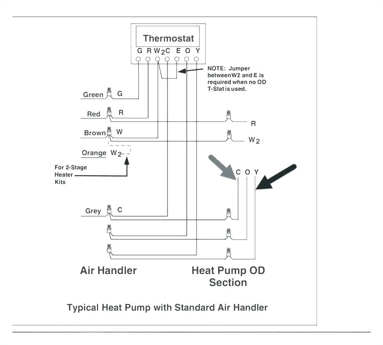 2 stage furnace wiring diagrams heat pump thermostat diagram collection outstanding download old goodman price furn jpg