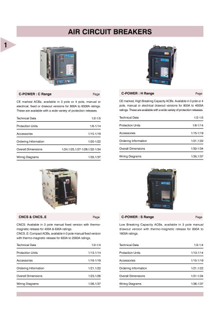 air circuit breakers electrical and electronics division jpg