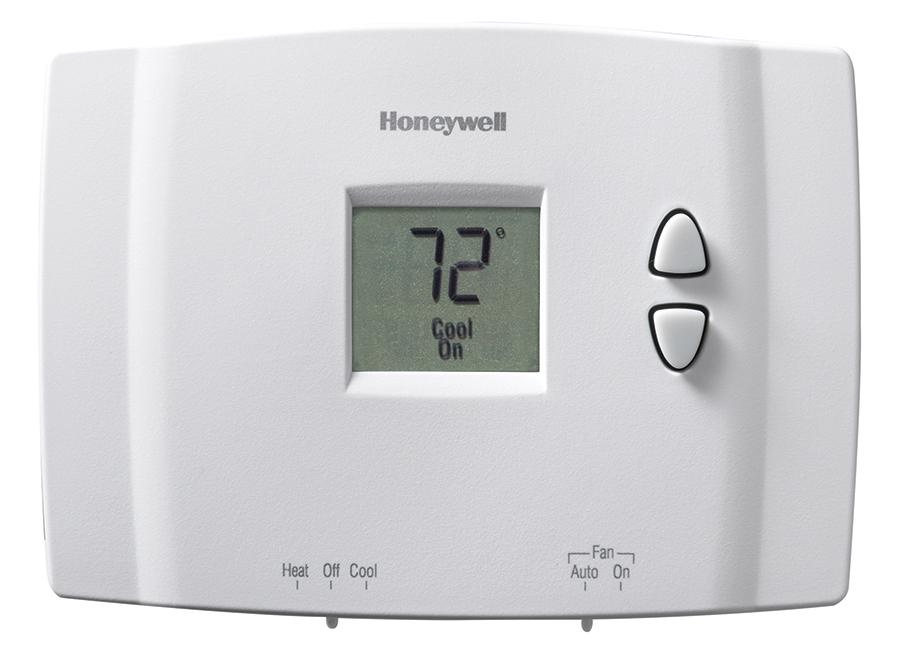 Honeywell T9 Wiring Diagram Digital Non Programmable thermostat Rth111b1016