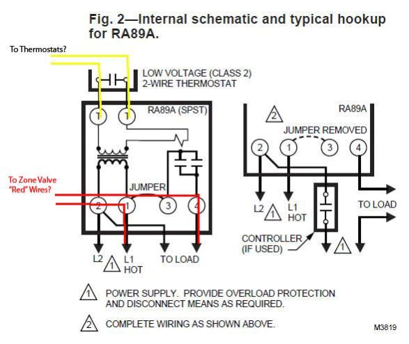 23151d1387333436 honeywell zone control valve v8043e1012 connect line voltage ra89a jpg
