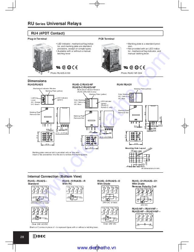 idec catalog relays amp sockets idec 29 638 jpg