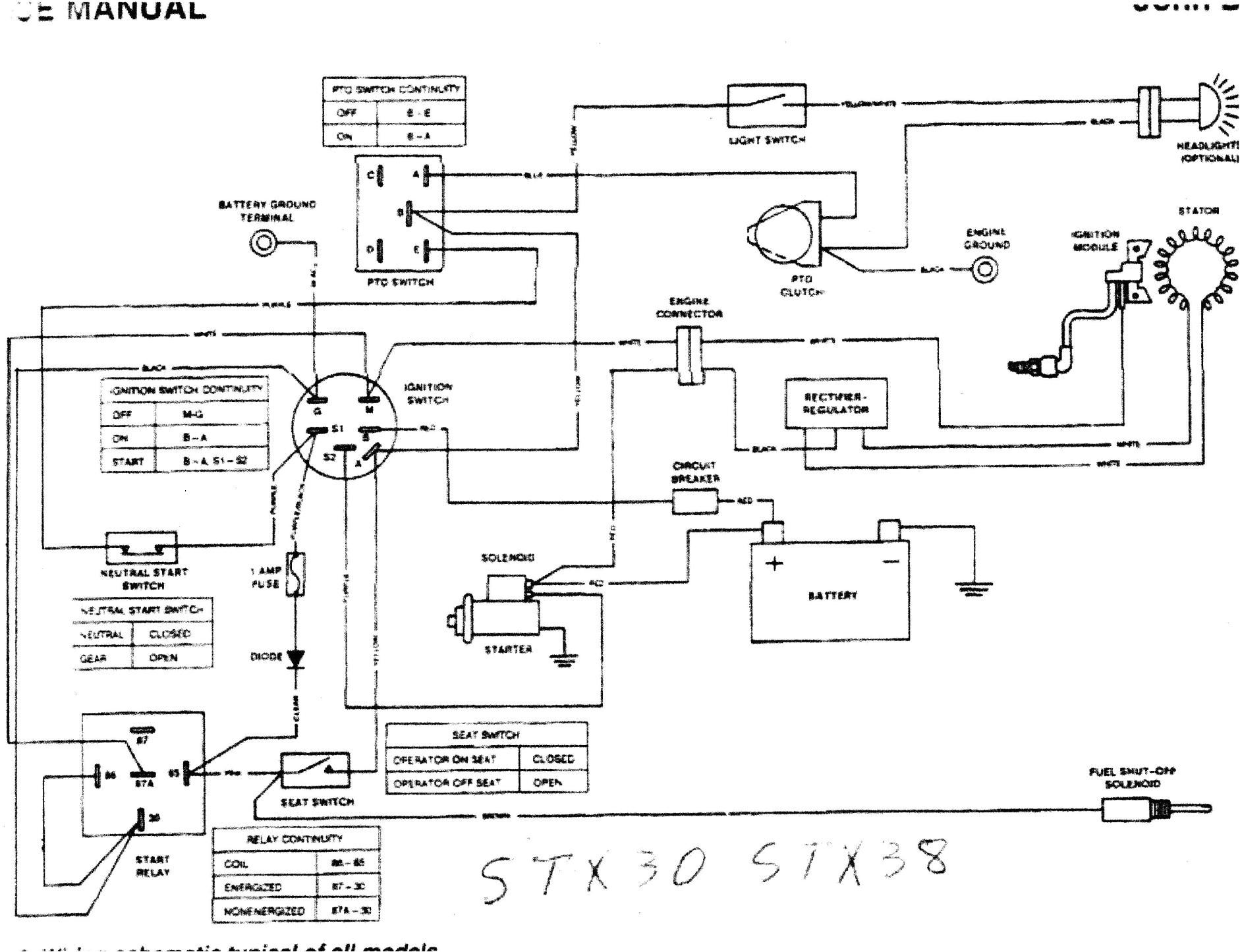john deere stx38 wiring schematic john deere gator wiring diagram on wiring diagram john deere stx38 rh 45 76 62 56 4c on john deere d130 wiring diagram jpg