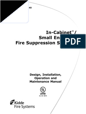 Kidde Fire Suppression System Wiring Diagram 06 236500 001 Ab Valve Electrical Wiring