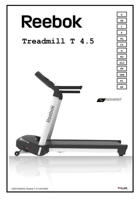 treadmill t 45 reebok fitness jpg