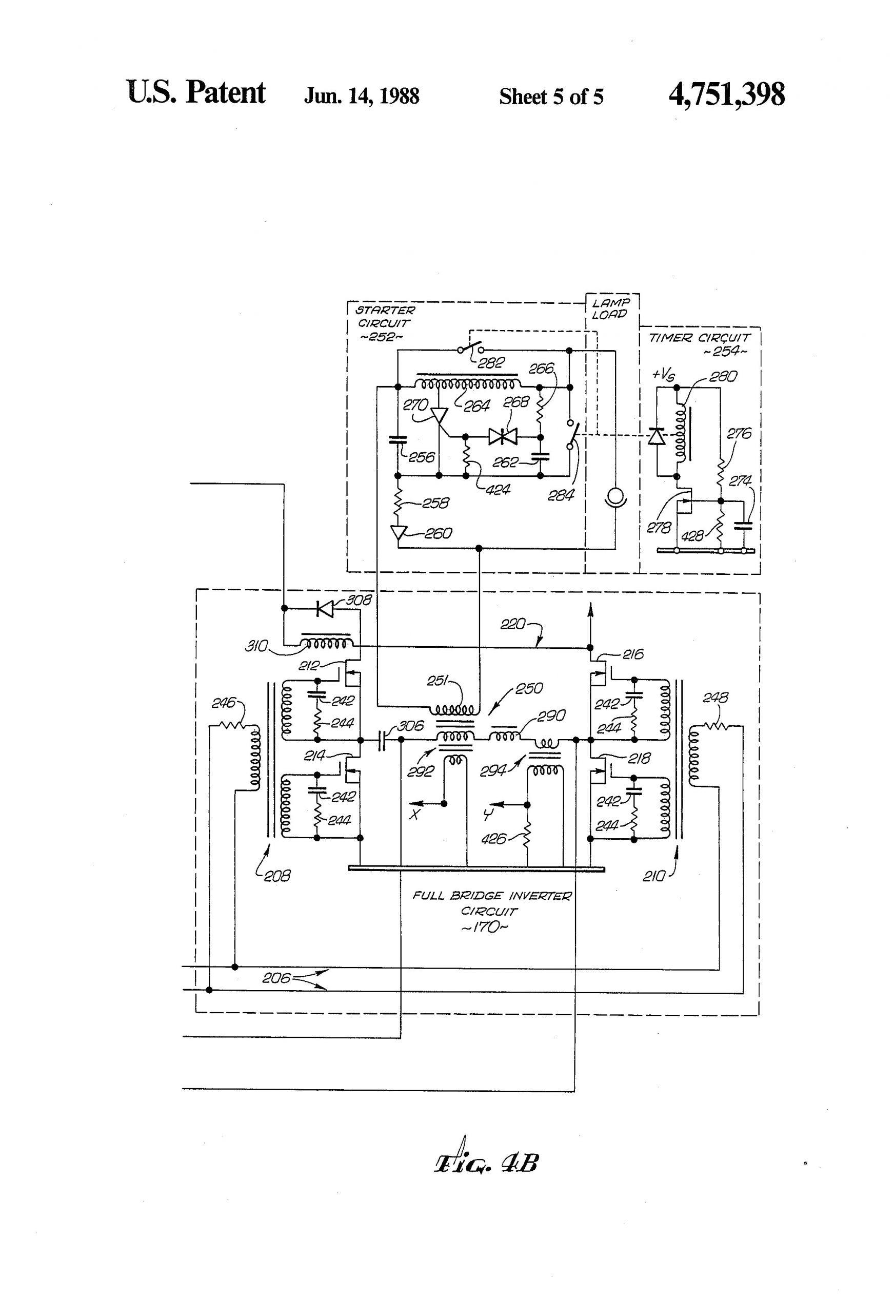 150 Watt Hps Ballast Wiring Diagram