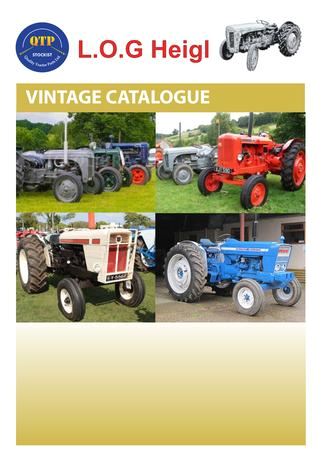 1958 fordson Dexta Wiring Diagram 3 Vintage by Quality Tractor Parts issuu