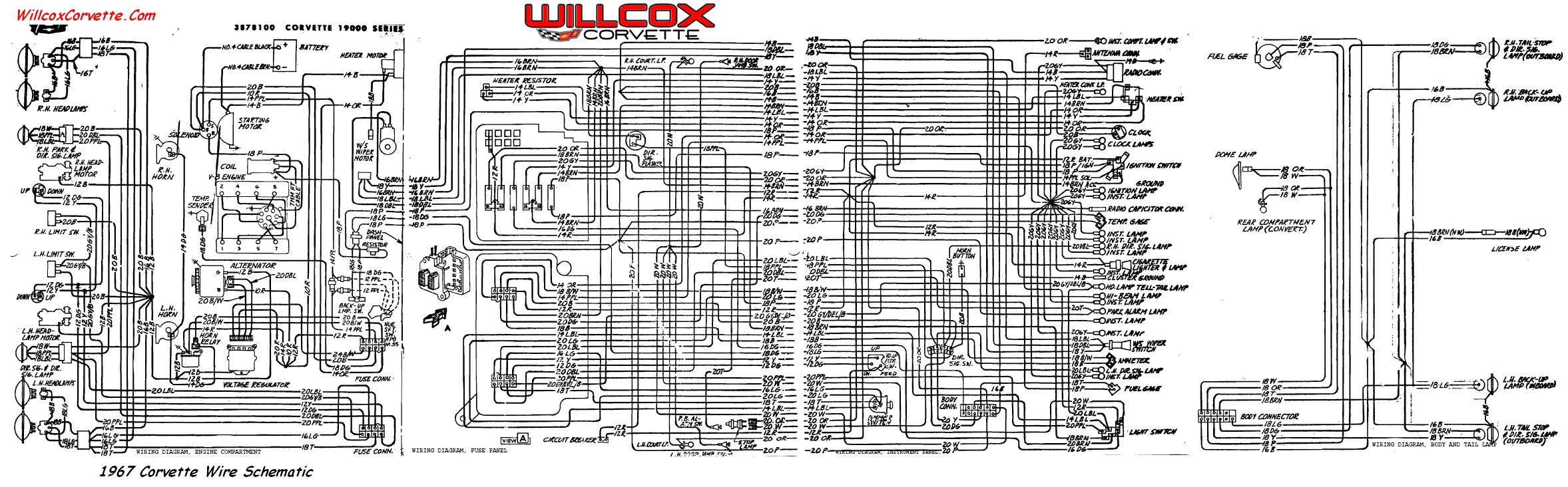 67 wire schematic for tracing wires png