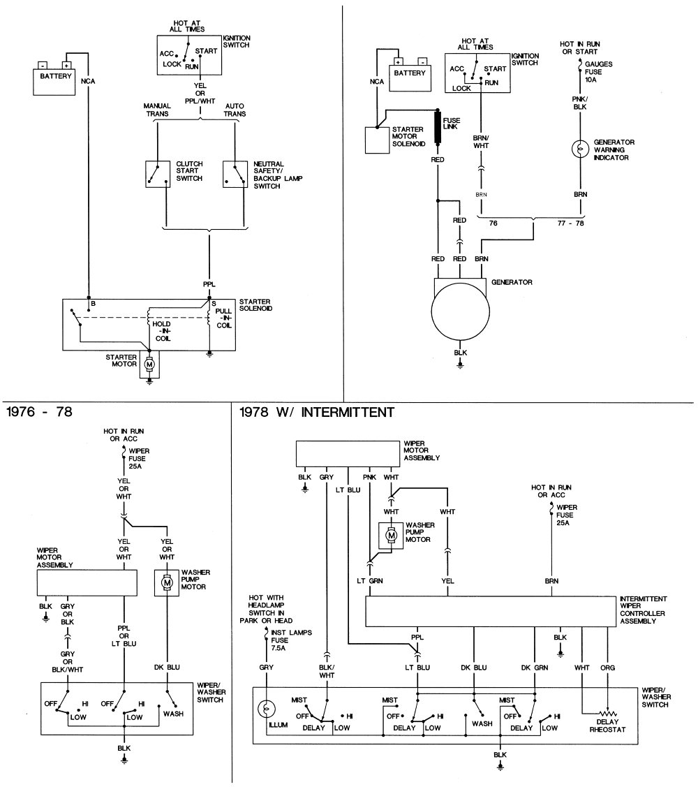 1976 corvette starter wiring diagram wiring diagrams the jpg