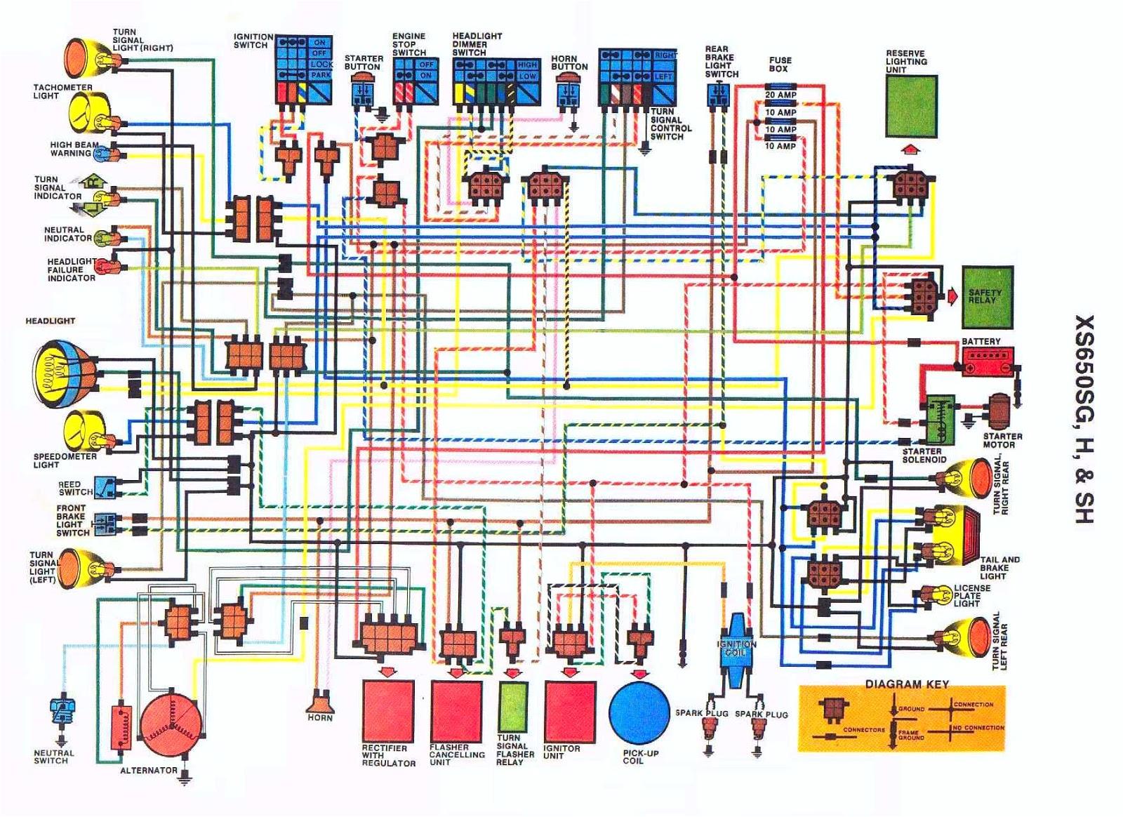 yamaha xs650 wiring diagram jpg